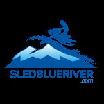 Sled Blue River