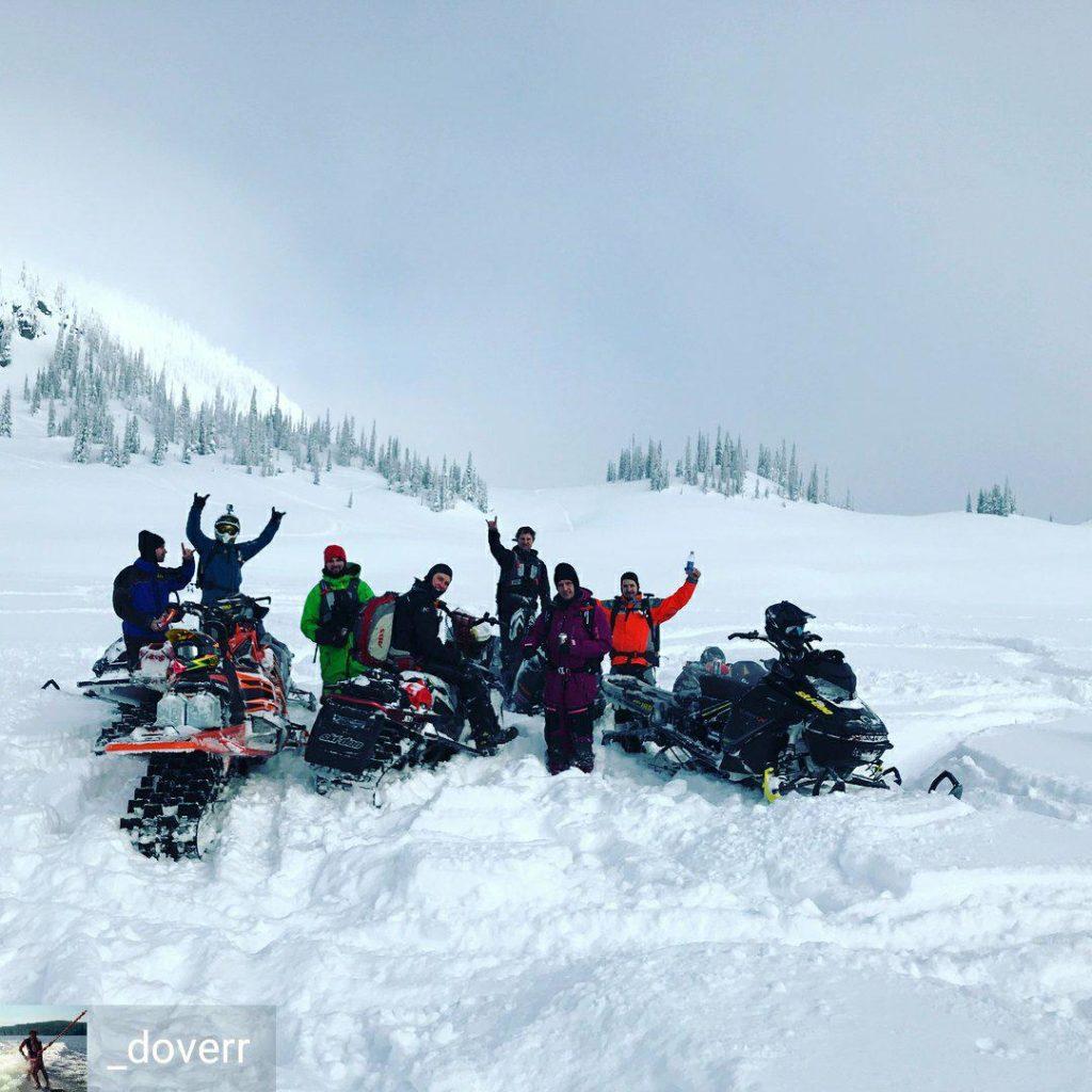 team sled blue river
